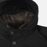 Мужская куртка парка Woolrich Long Mackinaw Black фото- 3