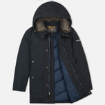 Мужская куртка парка Woolrich Long Mackinaw Dark Navy фото- 1