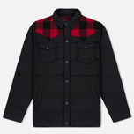 Мужская куртка Penfield Rockford Plaid Yoke Down Black фото- 0