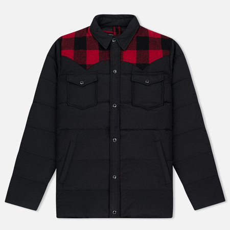 Мужская куртка Penfield Rockford Plaid Yoke Down Black