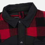 Мужская куртка Penfield Rockford Plaid Yoke Down Black фото- 1