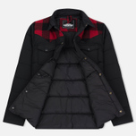 Мужская куртка Penfield Rockford Plaid Yoke Down Black фото- 2