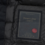 Мужская куртка подкладка Ten C Down Liner Hooded Black фото- 4