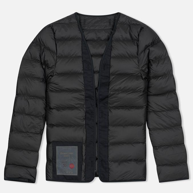 Мужская куртка подкладка Ten C Down Liner Black