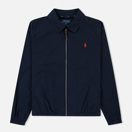 Мужская куртка Polo Ralph Lauren Bayport Windbreaker Cotton Poplin Aviator Navy