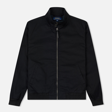 Мужская куртка Polo Ralph Lauren City Baracuda Cotton Twill Black