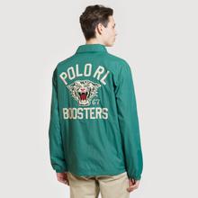 Мужская куртка Polo Ralph Lauren Coach Graphic Vintage Nylon Vermont Green фото- 3