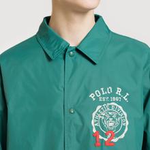 Мужская куртка Polo Ralph Lauren Coach Graphic Vintage Nylon Vermont Green фото- 2