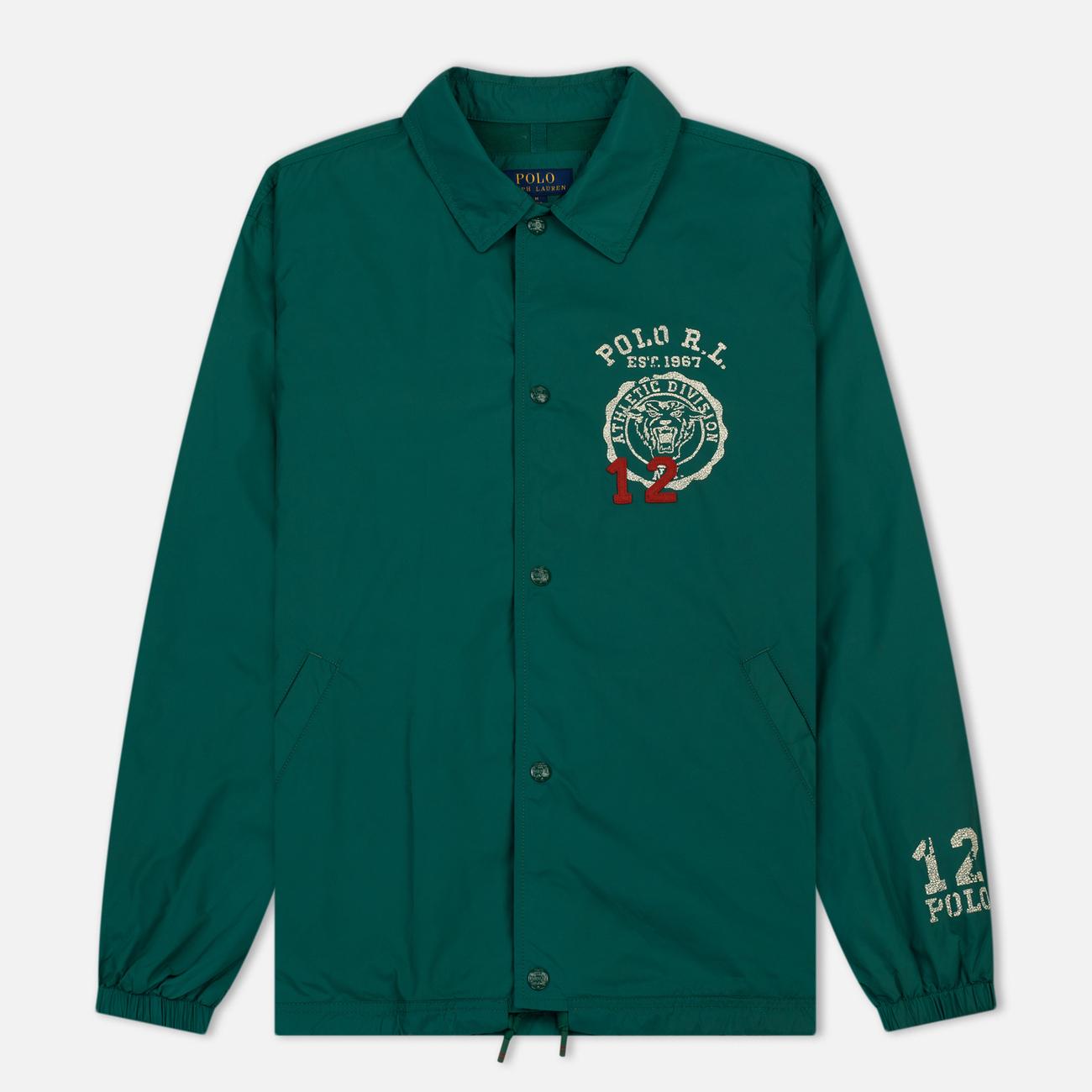 Мужская куртка Polo Ralph Lauren Coach Graphic Vintage Nylon Vermont Green