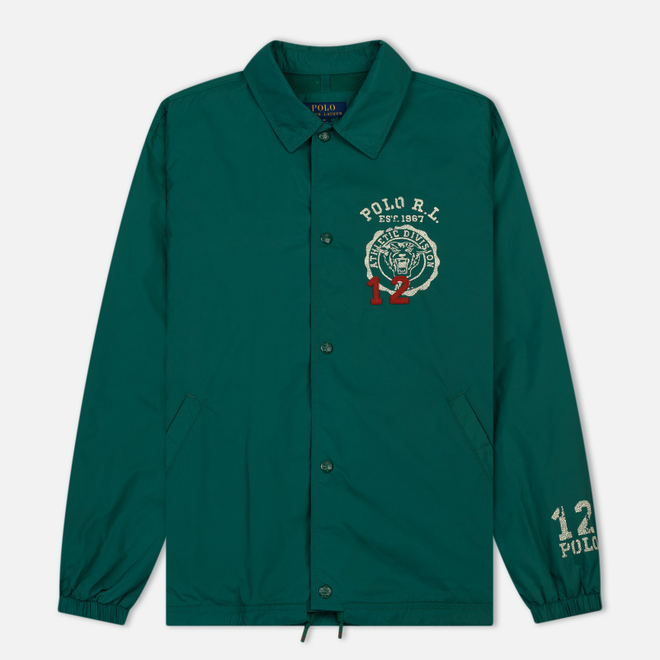 Мужская куртка Polo Ralph Lauren Coach Graphic Vintage Nylon Vermont Green