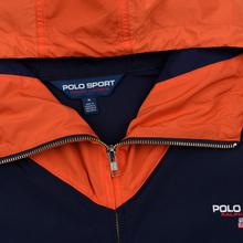 Мужская куртка Polo Ralph Lauren Color Block Windbreaker Cruise Navy/Jerry Green/Bitter Sweet Orange фото- 1
