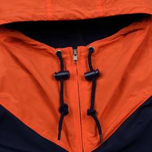 Мужская куртка Polo Ralph Lauren Color Block Windbreaker Cruise Navy/Jerry Green/Bitter Sweet Orange фото- 3