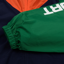 Мужская куртка Polo Ralph Lauren Color Block Windbreaker Cruise Navy/Jerry Green/Bitter Sweet Orange фото- 6