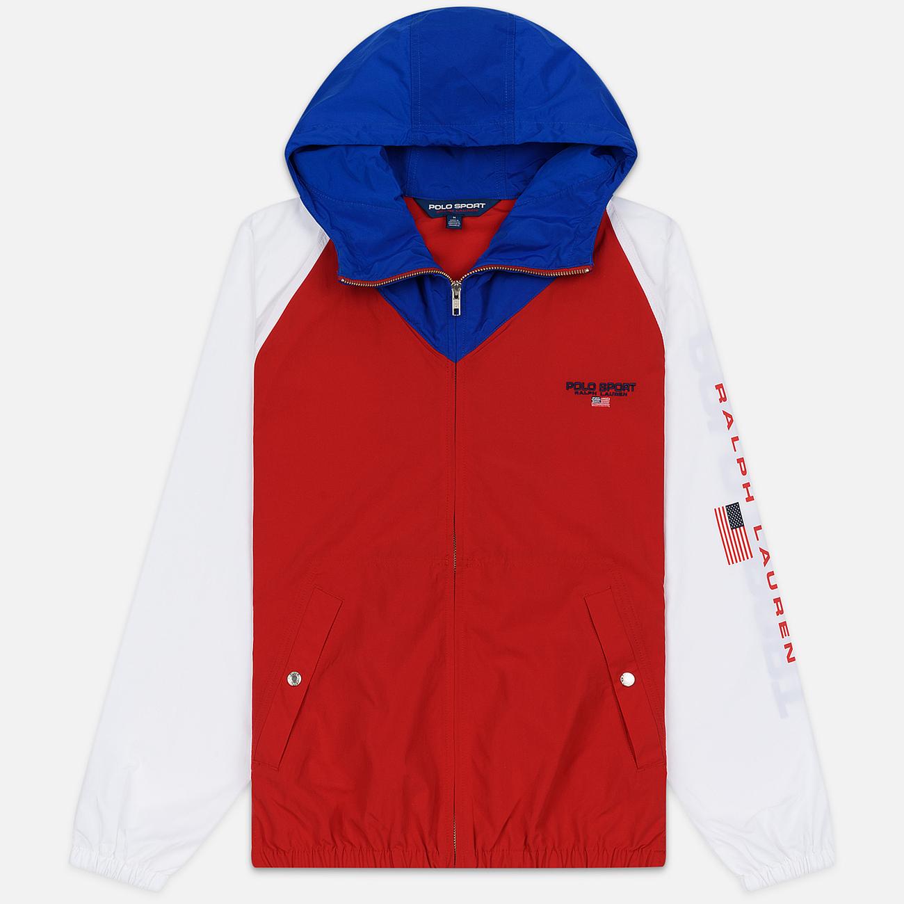 Мужская куртка Polo Ralph Lauren Color Block Windbreaker Red/White/Sapphire Star