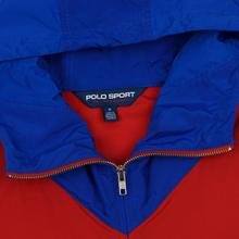Мужская куртка Polo Ralph Lauren Color Block Windbreaker Red/White/Sapphire Star фото- 1