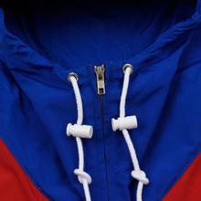 Мужская куртка Polo Ralph Lauren Color Block Windbreaker Red/White/Sapphire Star фото- 4