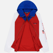 Мужская куртка Polo Ralph Lauren Color Block Windbreaker Red/White/Sapphire Star фото- 5