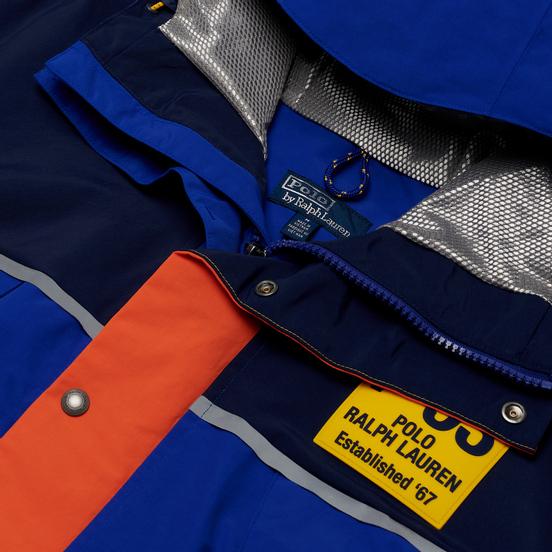 Мужская куртка Polo Ralph Lauren Saranac Lake P-93 Graphic Water-Repellent Royal/Multicolor