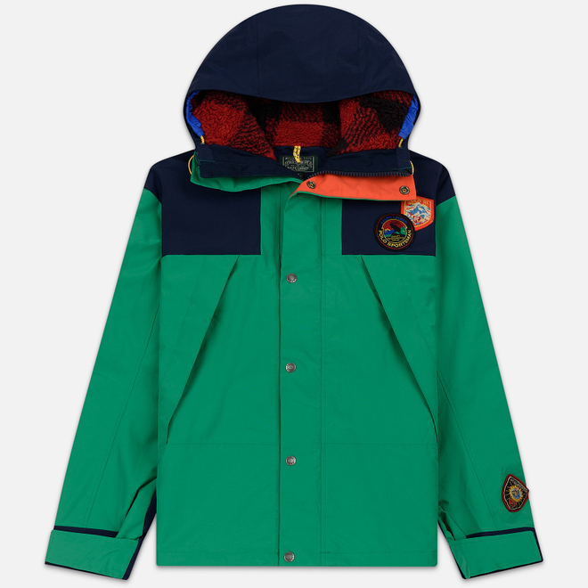 Мужская куртка Polo Ralph Lauren Yosemite Printed Anorak Cruise Navy/Kayak Green