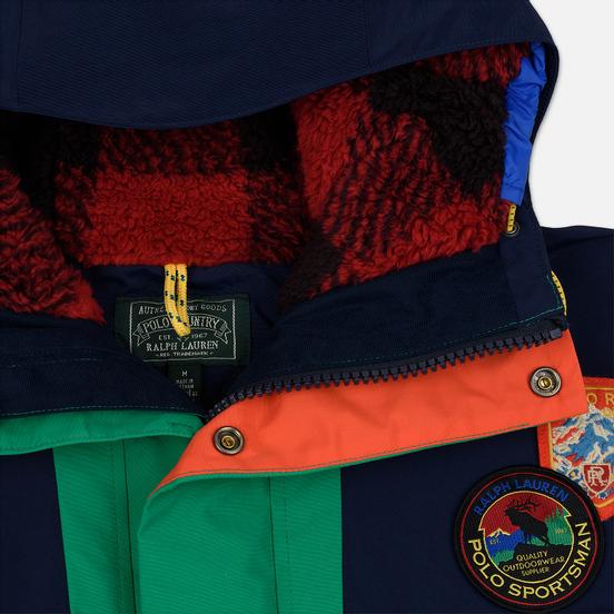 Мужская куртка Polo Ralph Lauren Yosemite Printed Anorak Cruise Navy/Kayak Green