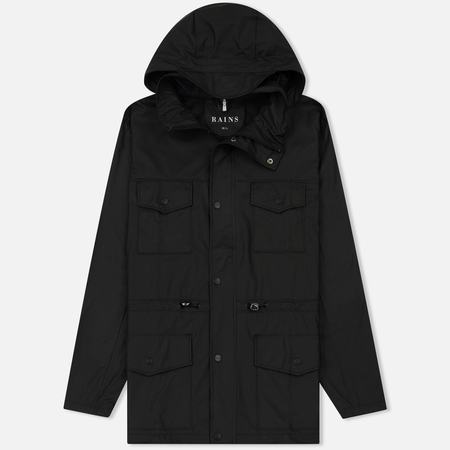 Мужская куртка Rains Four Pocket Black
