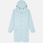Мужская куртка дождевик Rains Long Jacket Wan Blue фото- 0