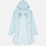 Мужская куртка дождевик Rains Long Jacket Wan Blue фото- 1