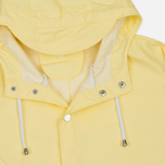 Rains Long Jacket Wax Men's Rain Jacket Yellow photo- 2