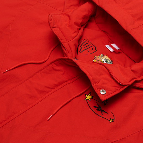 Мужская куртка Reebok x Tom & Jerry Woven Motor Red