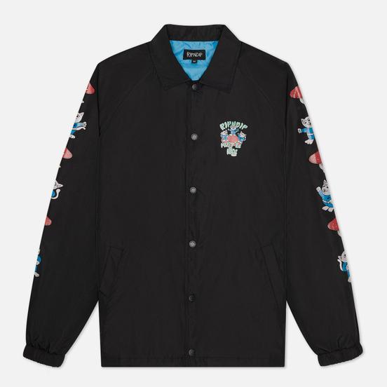 Мужская куртка RIPNDIP Alien Nerm Coaches Black