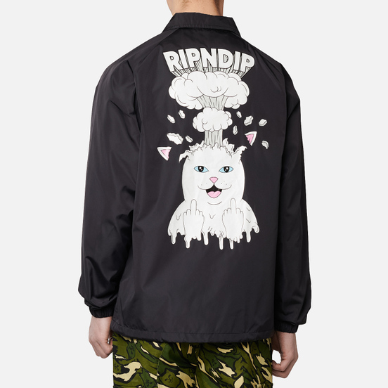 Мужская куртка RIPNDIP Mind Blown Coaches Black