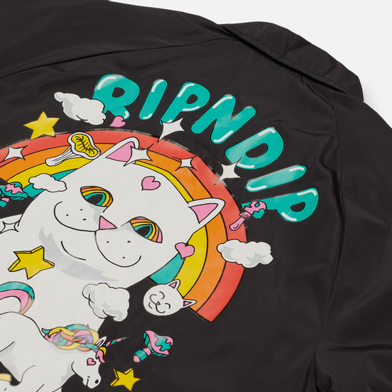 Мужская куртка RIPNDIP Nermland Coaches Black