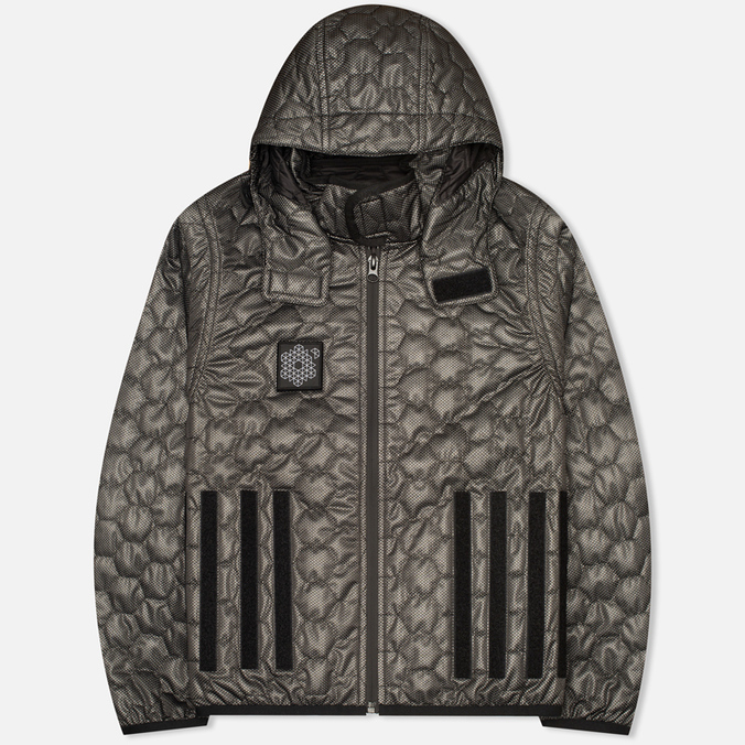 Plurimus Inner Men's Quilted Jacket Grey
