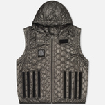 Plurimus Inner Men's Quilted Jacket Grey photo- 2