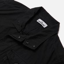 Мужская куртка Stone Island Cotton Cordura Black фото- 1