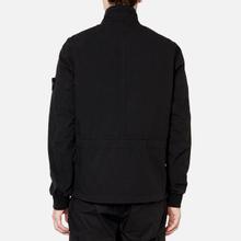 Мужская куртка Stone Island Cotton Cordura Black фото- 4
