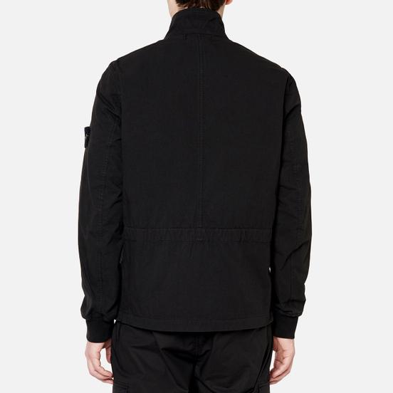 Мужская куртка Stone Island Cotton Cordura Black