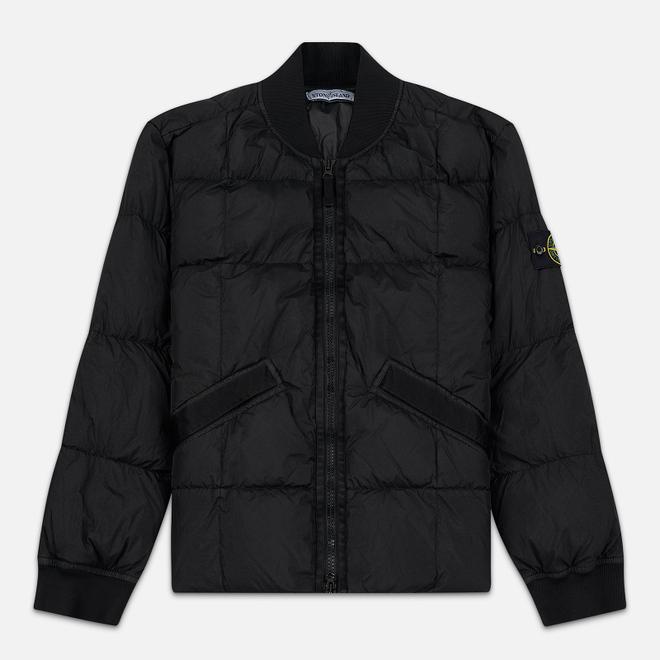 Мужская куртка Stone Island Crinkle Reps Nylon Down Black