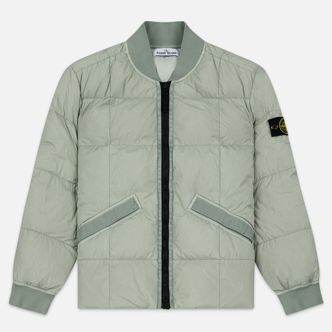 Мужская куртка Stone Island Crinkle Reps Nylon Down Dust Grey