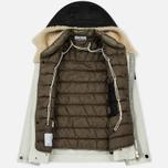 Мужская куртка Stone Island David-TC Detachable Lining Ice White фото- 2