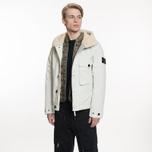 Мужская куртка Stone Island David-TC Detachable Lining Ice White фото- 9