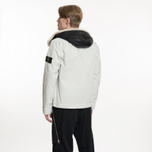 Мужская куртка Stone Island David-TC Detachable Lining Ice White фото- 10