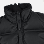 Мужская куртка Stone Island Featherweight Leather Down Black фото- 2