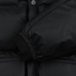 Мужская куртка Stone Island Featherweight Leather Down Black фото- 4