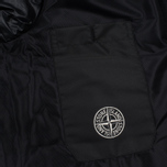 Мужская куртка Stone Island Featherweight Leather Down Black фото- 5