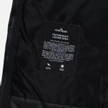 Мужская куртка Stone Island Featherweight Leather Down Black фото- 6