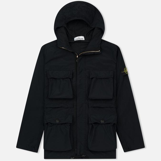 Мужская куртка Stone Island David Tela Light-TC Navy