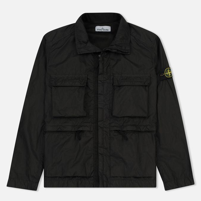 Мужская куртка Stone Island Field Membrana 3L TC Black