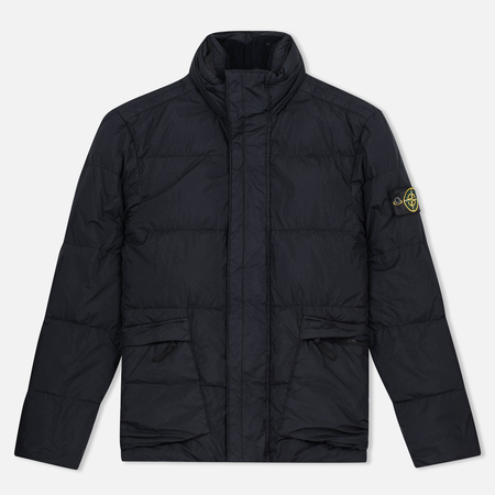 Stone Island Garment Dyed Crinkle Reps NY Down Men's Jacket Black