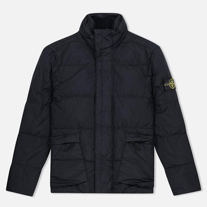 Мужская куртка Stone Island Garment Dyed Crinkle Reps NY Down Black